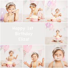 Happy 1st Birthday Eliza!  veroj.com  #verojphotography #london #mumstobe #parents #dads #baby #newborn #photography #2015 #children #kids #cakesmash #childrenphotographylondon