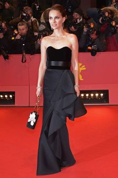 Natalie Portman at the Knight of Cups premiere, during the 2015 Berlin Film Festival. - HarpersBAZAAR.co.uk