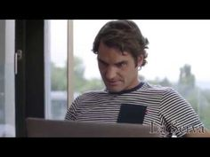 Djokovic. Federer. <3 both; creative production/comb. of seperate skype videos, humorous.
