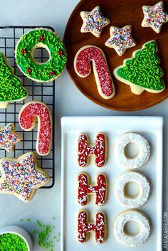 The Best Cutout Sugar Cookies from @Kelly Teske Goldsworthy Teske Goldsworthy Senyei   Just a Taste  #recipe