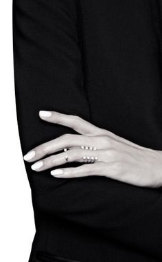 designer unknown | square finial open stacking rings