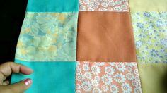125- Bedspread /dohar from leftover cloth pieces (Hindi /Urdu)