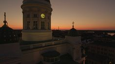 Helsinki Cathedral in Midnight sun