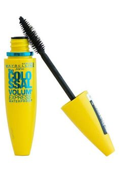 The most magical waterproof mascaras on the market—Maybelline Volum' Express The Colossal Waterproof Mascara