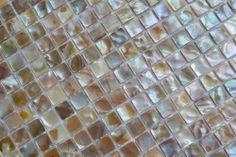 iridescent mirror glass tiles | MS004-I: Natural Iridescent Freshwater Mother of Pearl