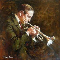 """Jazz Horn"" by Andrew Atroshenko"