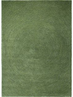 Tapis rond vert chiné tufté main COLOUR IN MOTION 250x250: Amazon.fr: Cuisine & Maison
