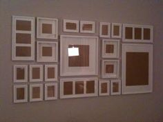 Gallery Wall Template picture gallery wall ideas | office gallery wall : part i – layout