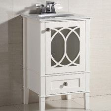 "Paige 21"" Bathroom Vanity Chest & Sink Set"