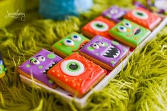 Monster Birthday Party Ideas | Monster Cookies