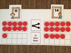 Math Coach's Corner: Using Place Value to Compare Numbers. An understanding of place value is essential for comparing numbers.  Read more and grab this hands-on freebie!