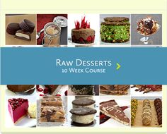 10 week course on cooking and eating raw.  Check it out!  http://www.therawchef.com/courses/