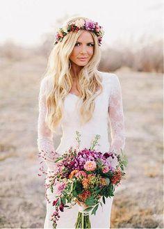 Elegant Lace V-neck Neckline Sheath Wedding Dresses