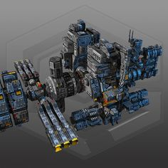 Modeled with texturized with PS/Quixel, own designs. Spaceship 3d Model, Spaceship Art, Spaceship Design, Spaceship Concept, Concept Ships, Concept Art, Star Citizen, Space Engineers Game, Sci Fi Anime