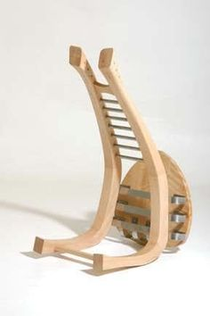 Guitar Stand/Stool by Paparwark Furniture
