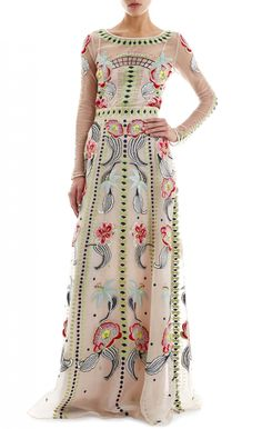 Long Carmelina Skirt by Temperley London Pretty Outfits, Pretty Dresses, Beautiful Outfits, Boho Fashion, Fashion Dresses, Fashion Design, Party Mode, Up Girl, Swagg