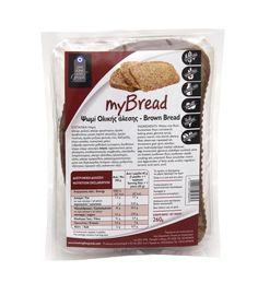 Ψωμί Ολικής Άλεσης MyBread - 260g