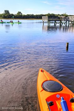 Kayaking is a great activity for the whole family. Rent a kayak or better yet take a guided tour through our beautiful waterways and marshes. NC's Brunswick Islands.