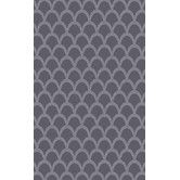 Found it at Wayfair - Mystique Gray Geometric Area Rug