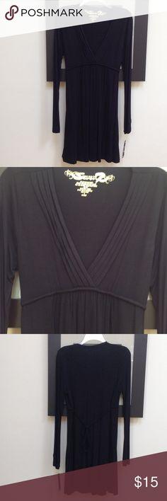 Selling this Seven7 Studio , Black Jersey Short Dress on Poshmark! My username is: patriciacloset. #shopmycloset #poshmark #fashion #shopping #style #forsale #Seven7 Studio #Dresses & Skirts