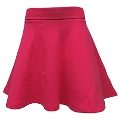 Augusta BIg Girls Covered Elastic Waistband Skirt GOLD//WHITE XX-Small