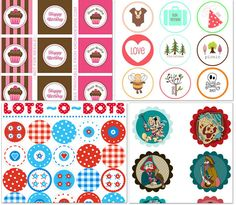 A list of 18 free printable cupcake toppers to use for birthday, baby shower, etc. includes Lego, star wars, Dr. Suess, etc