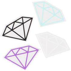 59eb9b82e2d9 Diamond Supply Rock Vinyl Sticker ($3) Diamond Supply Co, Office  Accessories, Sticker