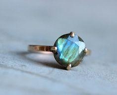 Labradorite & gold https://www.etsy.com/listing/189996455/gold-ring-labradorite-gold-ring-18k-gold
