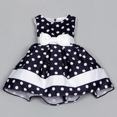 Dorissa Infant Girl's Dotty Polka Dot Dress | Overstock.com Shopping - The Best Deals on Girls' Dresses