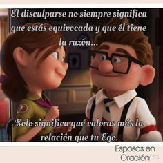You And I, I Love You, My Love, Carl Y Ellie, Husband Quotes, Romantic Love Quotes, Love Messages, Spanish Quotes, Mr Mrs