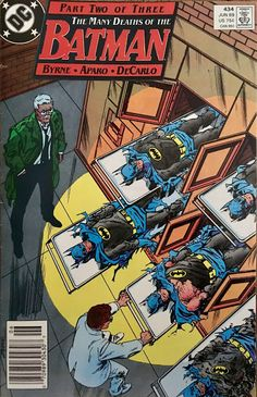 Chris is on Infinite Earths: Batman #434 (1989)