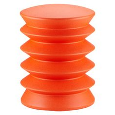 Orange ergoErgo Seat; would like to have one of these but maybe in black or blue. Well, maybe orange is ok since my bedroom walls are purple and orange is a complementary color.