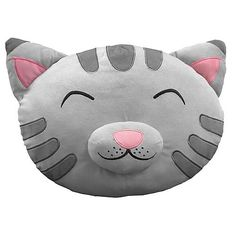 """Soft kitty, warm kitty, little ball of fur. Happy kitty, sleepy kitty, purr, purr, purr!"" Based on the feline featured in the super-hot TV series The Big Bang Theory, you can now take home the kitty in question... without the mess of a real pet! This 16-inch Big Bang Theory Soft Kitty Head Plush Pillow would make an excellent gift for the Penny and Sheldon fan in your life."
