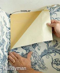 Wallpaper - How to Wallpaper Wallpaper Edge, Wallpaper Roller, Wallpaper Shelves, Diy Wallpaper, Pattern Wallpaper, Hanging Wallpaper, Wallpaper Installation, Wallpapering Tips, How To Apply Wallpaper