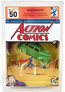 Hot Wheels Unveils Action Comics #1 SDCC 2018 Exclusive Figure