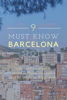 Barcelona Budget Travel Guide: Tips and Recommendations Before Your Visit Europe Destinations, Europe Travel Tips, European Travel, Places To Travel, Budget Travel, Travel Guide, Barcelona Hotel, Barcelona Travel, Spain And Portugal