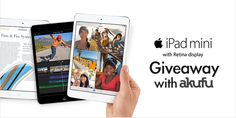 Enter for a chance to win an Apple iPad Mini with Retina Display!!!