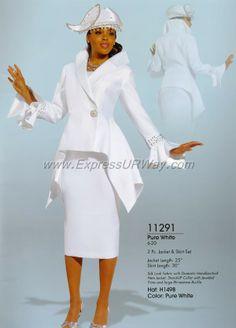 White Church Dresses for Women
