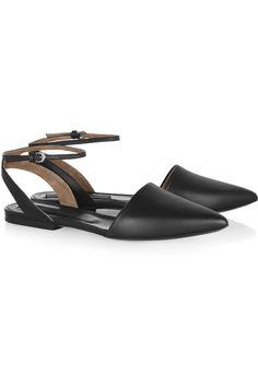 Proenza SchoulerLeather point-toe flats