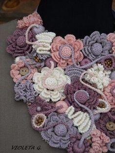 Письмо «Еще пины для вашей доски «ФРИФОРМ»» — Pinterest — Яндекс.Почта Freeform Crochet, Crochet Art, Irish Crochet, Crochet Flowers, Crochet Stitches Free, Free Crochet, Crochet Wall Hangings, Origami, Crochet Jacket