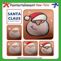 Paintertainment: More Christmas Cheek Art!