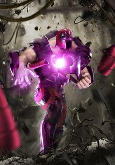Iron Magneto - Iron MaSH! on Behance