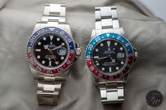 Rolex GMT-Master II Reference 116719BLRO and GMT-Master 1675