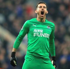 Martin Dubravka signs new six-year deal at Newcastle Steve Bruce, 30 Years Old, Goalkeeper, Newcastle, Premier League, No Time For Me, Dressing, Long Sleeve, Mens Tops