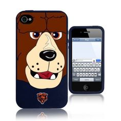 NFL Chicago Bears Mascot Soft Iphone Case,Fits Iphone 4 and 4s  http://allstarsportsfan.com/product/nfl-chicago-bears-mascot-soft-iphone-casefits-iphone-4-and-4s/  Officially Licensed Chicago Bears Collectible
