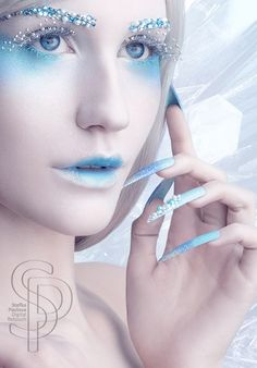 ice costume ideas | Ice Queen Makeup Ideas Ice queen by stefka pavlova