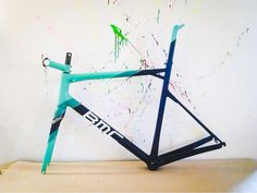 BMC slr 01 2013 Di2 RH 57 Custom paint by cycleart:
