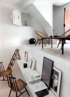 lunchlatte: designer Jacqueline Morabito, office space