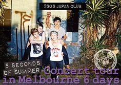 """【ファンクラブ限定】""""夏のミッション""""がおりてきた! オーストラリア公演に行く&ファンクラブの代表として、5SOSに""""何か""""を届けよう企画!(10名様) http://5sosjapan.jp/fct2015 #5SOSJAPANCLUB"""