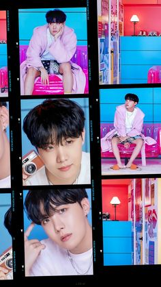 Foto Bts, Bts Photo, Bts Selca, Vlive Bts, Bts Taehyung, Jung Hoseok, J Hope Smile, Fanmeeting Bts, V Chibi